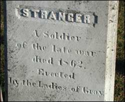 Stranger -a soldier of the late war