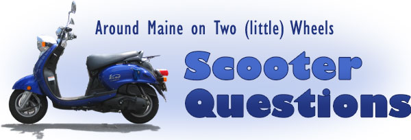 Gilleymedia Around Maine On Two Little Wheels Scooter Questions
